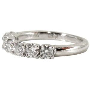 ペアリング プラチナ ダイヤモンド 結婚指輪 マリッジリング リング2本セット ダイヤ リング ソリティア エタニティリング 結婚式 カップル|atrus|04
