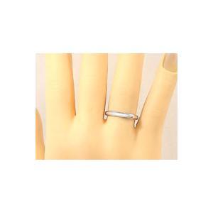 刻印 甲丸 ペアリング ホワイトゴールドk18 ダイヤモンド 結婚指輪 マリッジリング 結婚式 18金 ダイヤ ストレート カップル|atrus|05