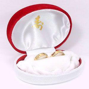 指輪 リング ペアリング用 ジュエリーケース 赤白 寿|atrus