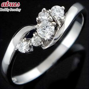 プラチナ 指輪 PT900 ダイヤモンド 婚約指輪 安い エンゲージリング ピンキーリング リング ダイヤリング レディース 送料無料|atrus