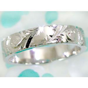 結婚指輪 ハワイアンペアリング プラチナ900 イエローゴールドk18PT900 k18結婚記念リング 地金リング 18金 k18yg ストレート カップル シンプル 人気|atrus|02
