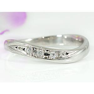 エンゲージリング プラチナ ダイヤモンド 婚約指輪 指輪 リング ダイヤ ストレート|atrus|02