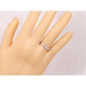 エンゲージリング プラチナ ダイヤモンド 婚約指輪 指輪 リング ダイヤ ストレート|atrus|04