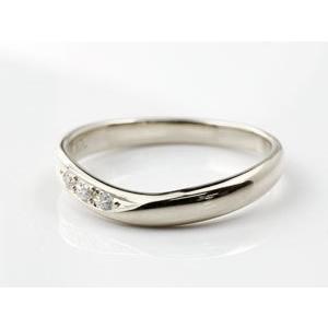 ペアリング プラチナ ダイヤモンド 結婚指輪 マリッジリング ダイヤ 結婚式 カップル|atrus|04