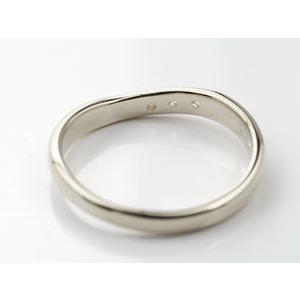 ペアリング プラチナ ダイヤモンド 結婚指輪 マリッジリング ダイヤ 結婚式 カップル|atrus|05