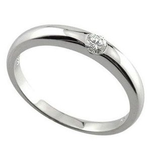 婚約指輪 ハードプラチナ エンゲージリング ダイヤモンド 指...