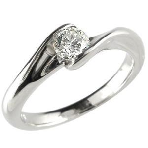 婚約指輪 安い 鑑定書付き 婚約指輪 プラチナリング ダイヤモンド エンゲージリング 一粒ダイヤ 大粒ダイヤ 0.30ct SI ストレート 2.3 宝石 送料無料|atrusyume
