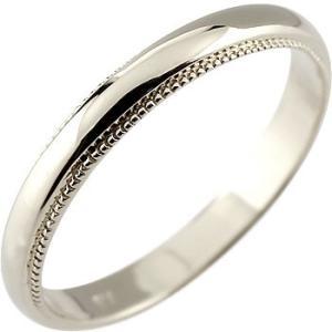メンズ 指輪 ホワイトゴールドk10 リング ピンキーリング...