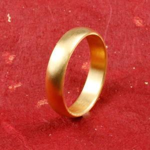 純金 24金 ゴールド k24 幅広 指輪 ピンキーリング 婚約指輪 エンゲージリング  ホーニング...