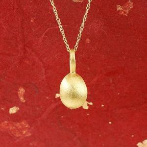 純金 ネックレス 24金 ゴールド イースターエッグ 卵 24K ペンダント 24金 ゴールド k2...