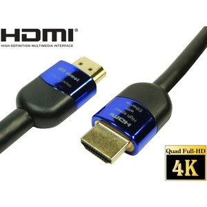 ハイグレード HDMIケーブル 8m 4K2K 60p 4.4.4 24bit HDR動作保証  High speed with ethernet 【AWG24 外径8.5mm】 A0330Tin-B|ats