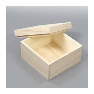 桐箱 長方形 | 保存箱 | 内寸幅11センチ縦11センチ高さ7センチ 木箱 |国内生産|atsumeru