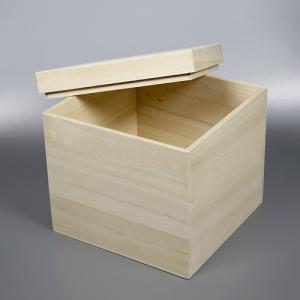 桐箱 正方形 | 保存箱 | 内寸幅16センチ縦16センチ高さ16センチ 木箱 |国内生産|atsumeru
