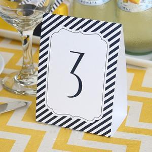 テーブルペーパー 席札 モノクロ 白黒 ウエディング ペーパー 結婚式 ブライダル 普通郵便OK|atsumeru