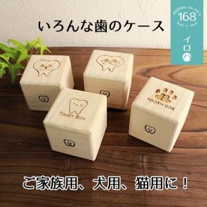 定形外選択で送料無料 乳歯ケース 犬 猫 ペット 子ども 「イロハ」(高品質桐材)乳歯入れ 箱 親知らず 入れ物|atsumeru
