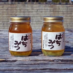 愛知県渥美半島で採れた完熟はちみつ 600g入り2本セット(クロガネモチ・百花みつ)|atsumi-hantou888