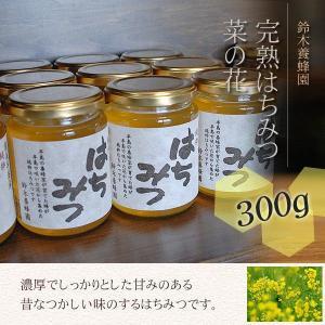 100%国産・愛知県渥美半島で採れた完熟はちみつ【菜の花 300g】|atsumi-hantou888