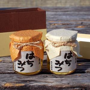 愛知県渥美半島で採れた完熟はちみつ 170g×2本(クロガネモチ、百花みつ)|atsumi-hantou888