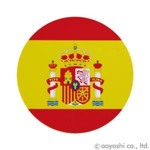 国旗コースター ワールドフラッグコースター スペイン SPAIN (1セット10枚入り)|atta-v