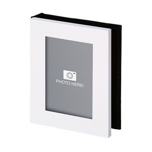 フォトフレーム 写真立て アルバム 白 103445 記念品 ギフト ノベルティ (名入れ別途お見積り)|atta-v