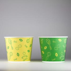 発泡断熱紙コップ スープ用 400ml(13オンス) 1000個 2色アソート 13oz ASホットMスープ&デリ テイクアウト・イベント・業務用・お祭り・使い捨て食品容器|atta-v