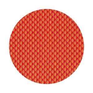 コースター 丸型 オレンジ 1セット5枚入り|atta-v