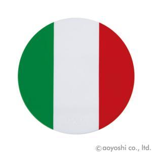 国旗コースター ワールドフラッグコースター イタリア ITALY|atta-v