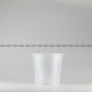 プラカップ 158ml(5オンス) 71mm口径 3000個 (PS製) 5オンスカップ半透明 (お祭り イベント テイクアウト 業務用 使い捨て)|atta-v