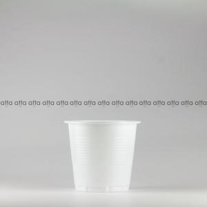 プラカップ 158ml(5オンス) 71mm口径 3000個 (PS製) 5オンスカップ白SNP (お祭り イベント テイクアウト 業務用 使い捨て)|atta-v