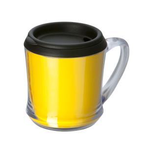 カスタムメイドマグカップ 320ml イエロー 127441 蓋付き・ギフト・プレゼント ※名入れ別途お見積もり|atta-v