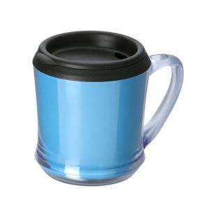 カスタムメイドマグカップ 320ml ブルー 127540 蓋付き・ギフト・プレゼント ※名入れ別途お見積もり|atta-v