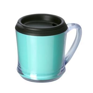 カスタムメイドマグカップ 320ml ブルーグリーン 130847 蓋付き・ギフト・プレゼント ※名入れ別途お見積もり|atta-v