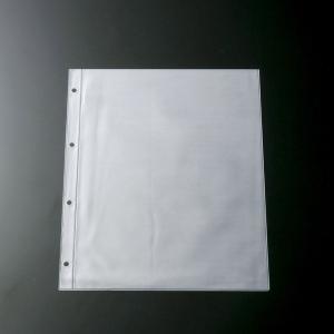 メニュー用中ビニール A4・4穴 ビニール・マット BP-A40 (ページ追加用ビニール リフィル)|atta-v