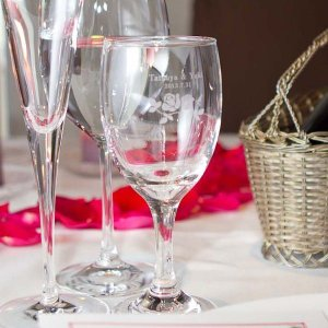 オリジナルグラス彫刻 ワイングラス|atta-v