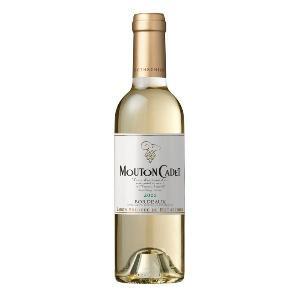 ワイン ギフト 「バロン フィリップ ド ロートシルト ムートン カデ ブラン ハーフ」 白ワイン 辛口|atta-v