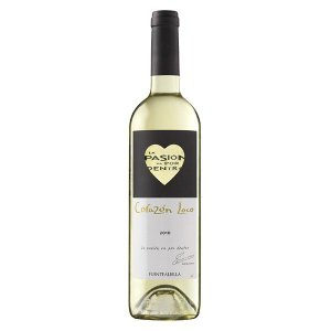 ワイン ギフト 「ボデガ イニエスタ コラソン ロコ ブランコ」 白ワイン 辛口|atta-v
