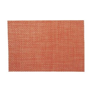 ランチョンマット テーブルマット 大 PM-114 オレンジチェック (5枚セット)|atta-v