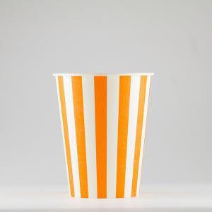 紙コップ 272ml(9.5オンス) 1パック:2500個入り SCV-275Pストライプ 業務用 テイクアウト 紙カップ 使い捨て 食品容器|atta-v