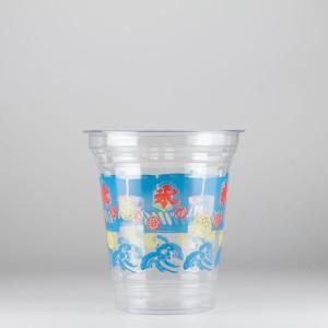 プラカップ 祭り氷柄 410ml(14オンス) 1000個  T96-410S 祭り氷 (お祭りイベントテイクアウト・業務用・使い捨て食品容器)|atta-v