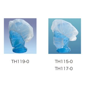 NCキャップ 不織布・1箱100枚入り TH119-0 衛生用品 ユニフォーム|atta-v