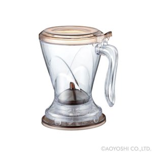 パーフェクト コーヒー&ティー ブリューワー オーバル 450ml 018770|atta-v