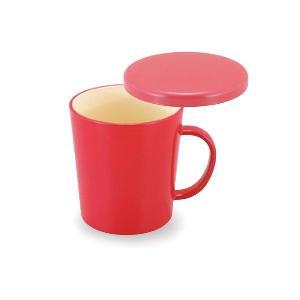 マグカップ蓋付 (sikkisikki) 300ml 梅 ZA-429078 蓋付きマグカップ 女子力UP 食器 キッチン雑貨|atta-v