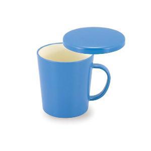 マグカップ蓋付 (sikkisikki) 300ml 花薄 ZA-42919 蓋付きマグカップ1 女子力UP 食器 キッチン雑貨|atta-v