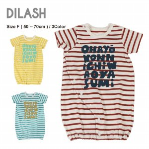 DIL正規販売店/ディラッシュ DILASH ボーダー2WAYオール(Free)|attackone