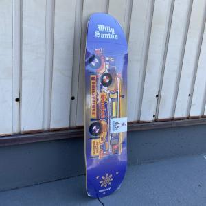 【大人用】スケートボードデッキ ウィリーズ ワークショップ 幅8.5x長32|attacks