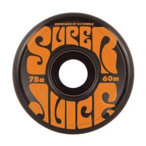 オージェイ ウィール 60mm スーパージュース 78a ブラック 4個入り|attacks