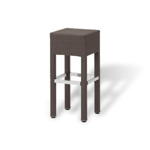 """COLORS Bar Chair バーチェアー 2脚セット (ブラウン""""colors black"""")