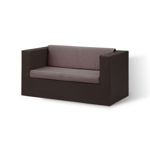 """COLORS Low dining sofa ローダイニング ソファ (ブラウン""""colors black"""")