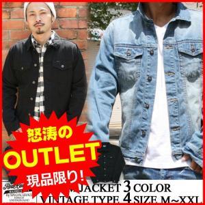 デニムジャケット Gジャン ライトアウター REALCONTENTS リアルコンテンツ アメカジ ストリート系 ファッション|attention-store