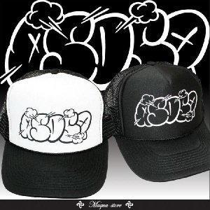 定番プリントメッシュキャップMESH CAP【ASNADISPEC】POP ASDSP MESH CAP・きれい目カジュアルストリート/as-cap-14|attention-store